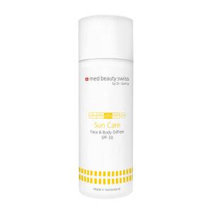 med beauty swiss SunCare Face & Body oilfree SPF30 150ml