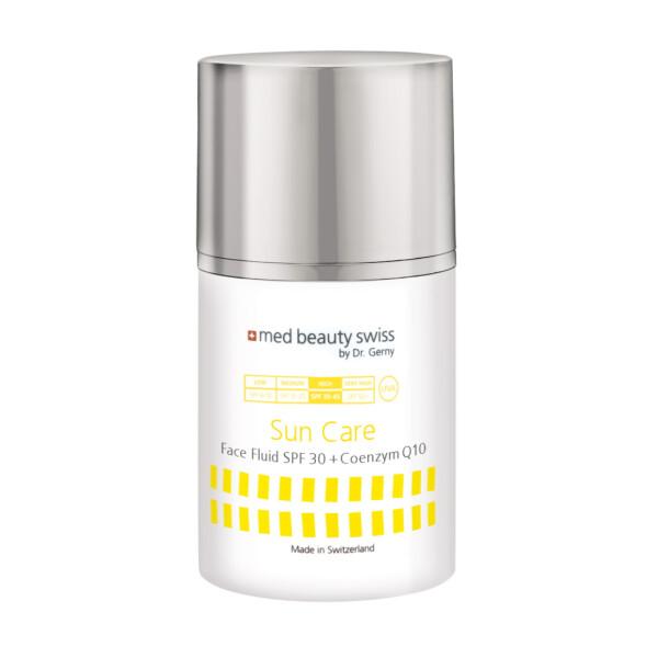 med beauty swiss SunCare Face Fluid SPF 30+ & Coenzym Q10, 50ml