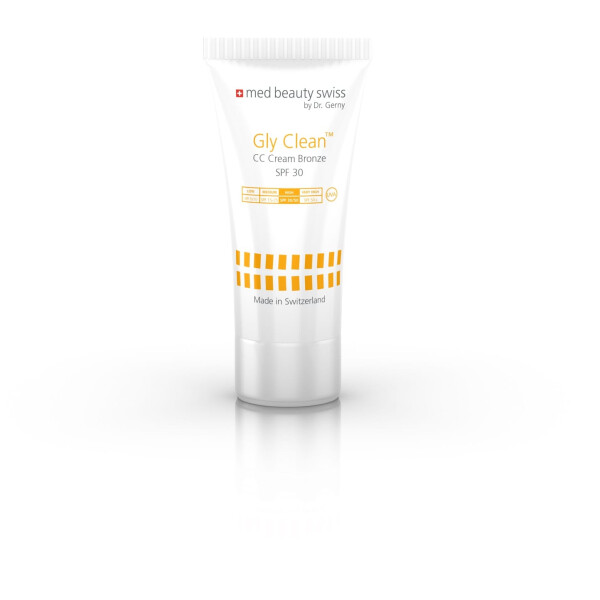 med beauty swiss GlyClean CC Cream Bronze SPF30 50 ml