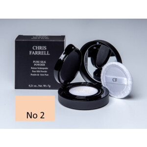 Chris Farrell Pure Silk Powder 7g No 2 Hellbeige